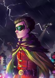 Damian Wayne by TenTennz