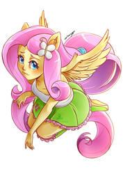 Fluttershy Equestria Girls by TenTennz