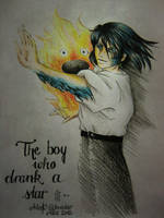 The boy who drank a star by FarrahPhoenix