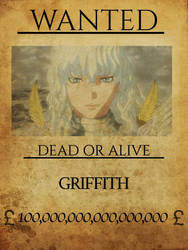 Griffith wanted by bbbhyt