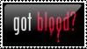 got blood stamp by peterdawes