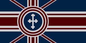 Alternate History British Flag by CommieTechie