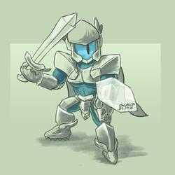 Knighty Rhombulus by GalaxyInvader
