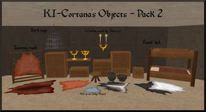 KI-Cortanas Objects for Feral Heart - Pack 2 by KI-Cortana