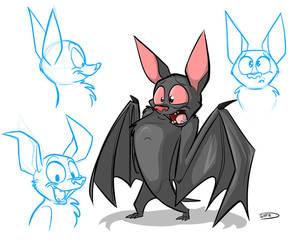 Batty Dracula by secoh2000