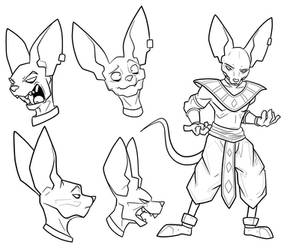 Lord Beerus by secoh2000