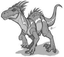 IndoRaptor - Jurassic World Fallen Kingdom by secoh2000