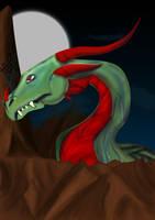 Dragon painting by rev-Jesse-C