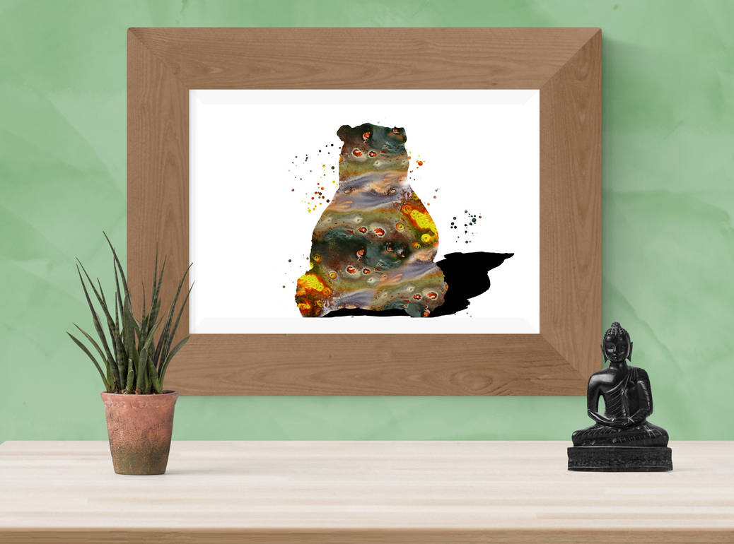 Bear abstract by rev-Jesse-C