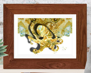 Octopus abstract by rev-Jesse-C