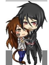 Sebastian and Zara by nyharu