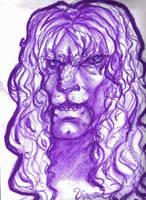 Purple Vincent sketch by depplosion