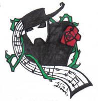 Phantom of the Opera tattoo by depplosion