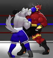 Enraging the Bull by GenshiTatsunora