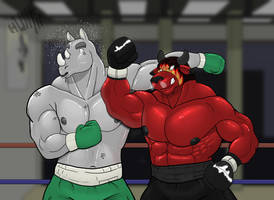 Boxing isn't as easy as I thought by GenshiTatsunora