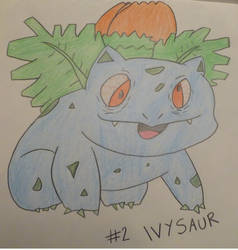 Ivysaur - Professor Oak's Pokedex #2 by ProfOakPokedex