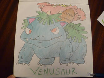 Venusaur - Professor Oak Pokedex #3 by ProfOakPokedex