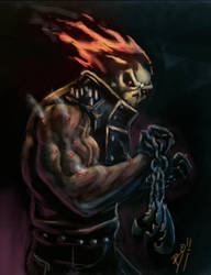 Ghost Rider by bodiego