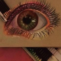 Eye :3 by Rhiannoninwonderand