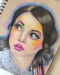 Emma Blackery Portrait ^-^ by Rhiannoninwonderand