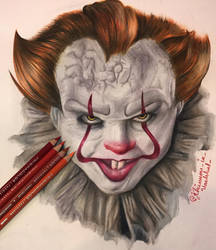 Pennywise the dancing clown :3 by Rhiannoninwonderand