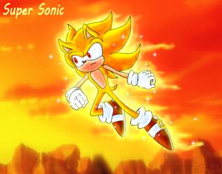 Da legendary Hedgehog Sonic by grim-zitos