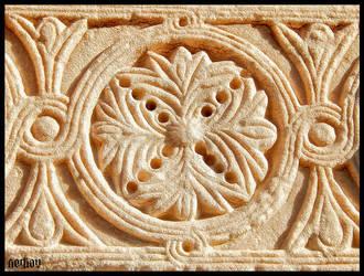 Stone Madrasa by serkanavcioglu