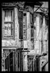 old aksehir houses by serkanavcioglu
