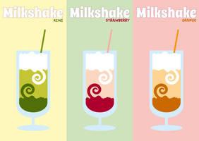 Milkshakes by Sirri-R-P