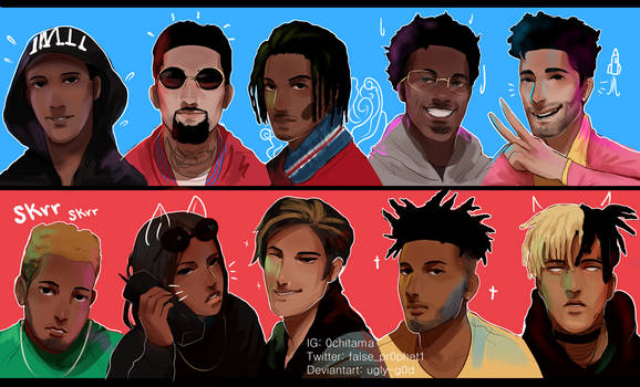 2017 XXL Class[SPEED PAINT] by ugly-g0d