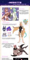 (CS) Novatt Species Guide - Basics + Lore + FAQs by ugly-g0d