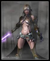 Raessa - Nightsister Dagger by Aphrodite-NS