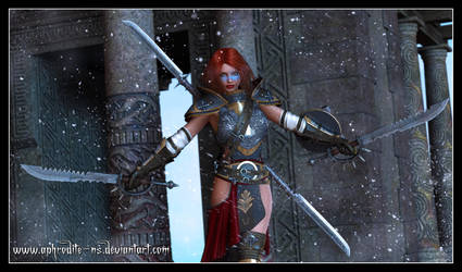 Norn Warrior by Aphrodite-NS
