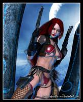 Red Monika by Aphrodite-NS