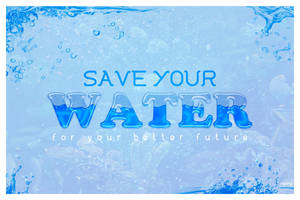 Save Our Water by ARaFah