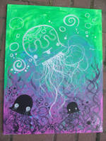 The force jellyfish by Marshmallowmassacre