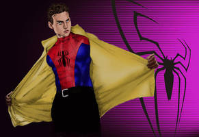 Peter Parker B by atomicbill