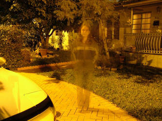 Palm Ave Ghost by kitsolidor