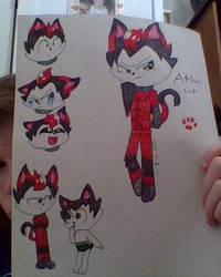 Atlas cat by FireEye6