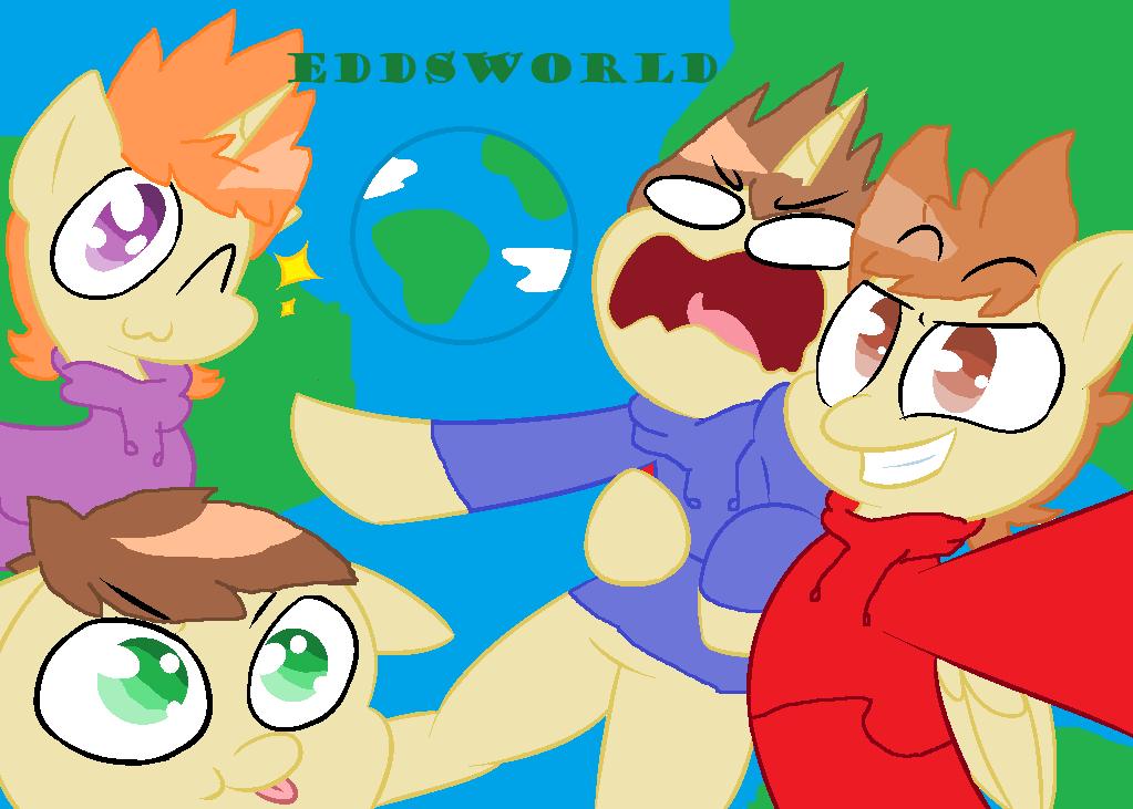Eddsworld as ponies by FireEye6