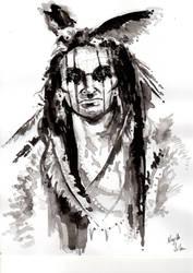 American Indian - Indio Norteamericano by NejibSila