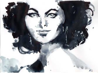 Witch Sketch. Sketch de Bruja by NejibSila