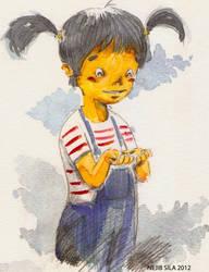 Children illustrations by NejibSila