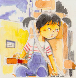 Children illustration 2 by NejibSila