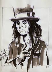 Alice Cooper Ink by NejibSila