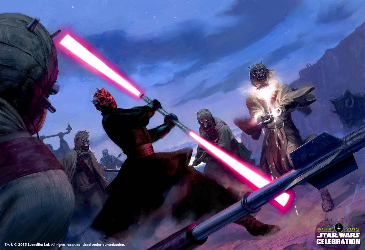 Star Wars Celebration Anaheim: Sparring Practice by JakeMurray