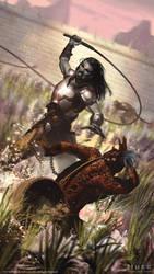 The Elder Scrolls: Legends - Dres Slavedriver by JakeMurray