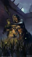 The Elder Scrolls: Legends - Dres Renegade by JakeMurray