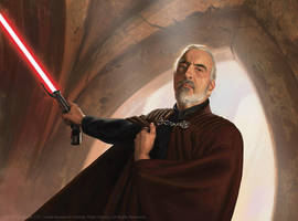 Count Dooku by JakeMurray