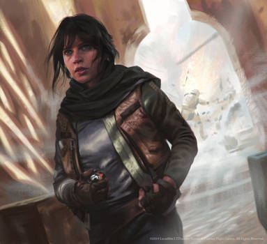 Jyn Erso by JakeMurray